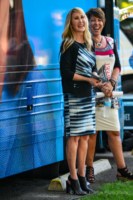 Speakers Heather Scott & Celeste LaReau (Joshua Holman Photography)