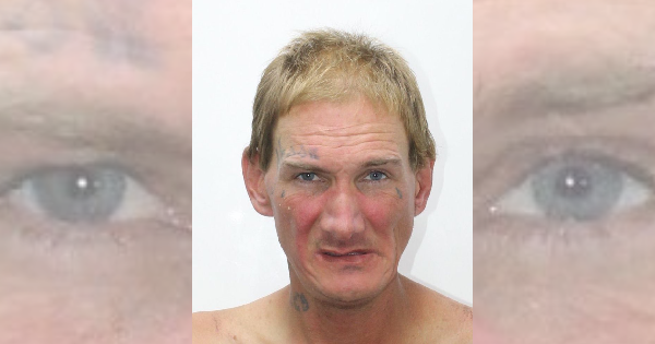 Man admits to smoking meth after police catch him stumbling into traffic
