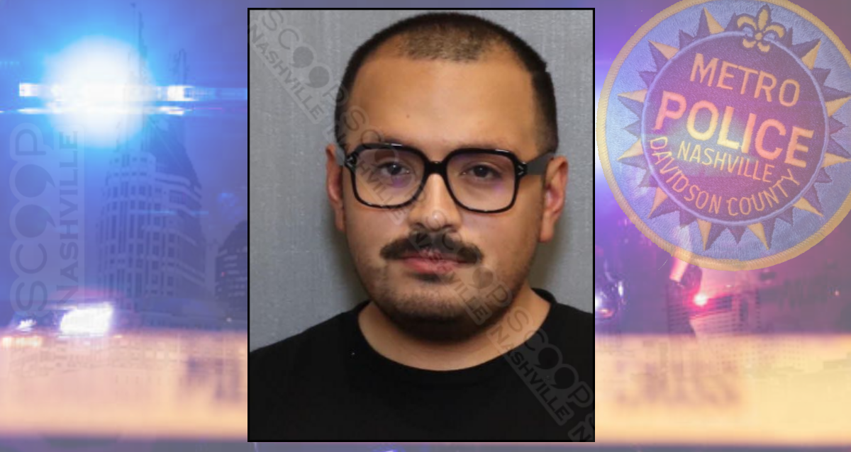 Vodka & Poppers: Nashville man charged with late-night DUI — Michael David Grout