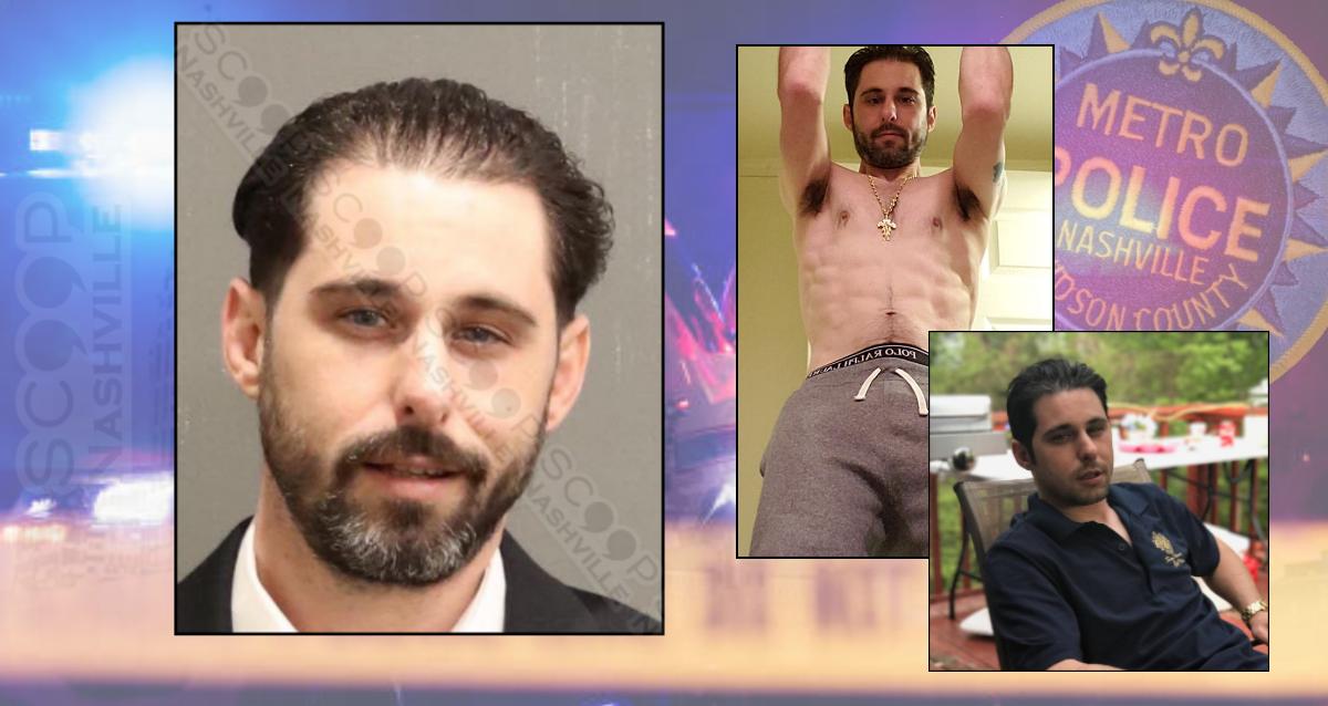Nick La Mattina runs wife off road, breaks into home, tears down door, destroys bedroom