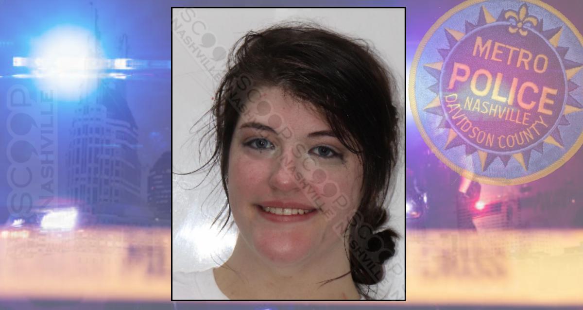 Alabama woman free on pre-trial release after spitting in MNPD officer's eye — Sydney Warren