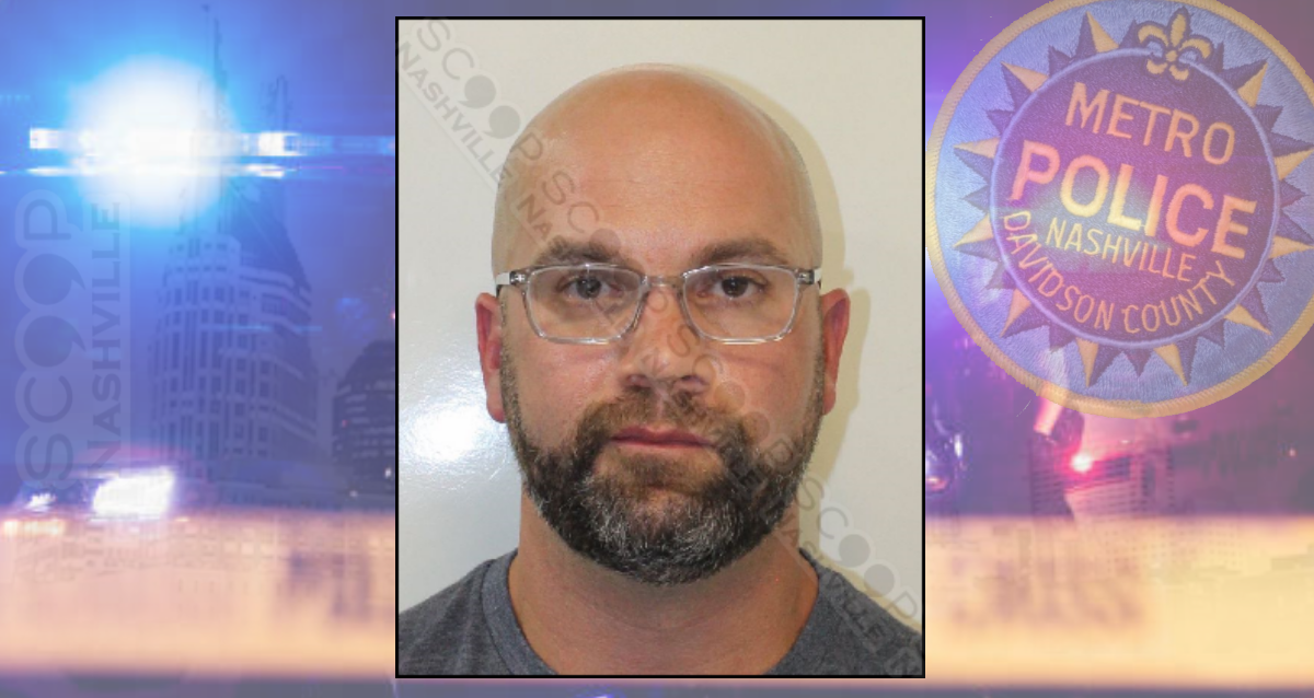 Tourist tosses wife onto the ground on Broadway in front of officers — Wes Morris arrested #VisitMusicCity